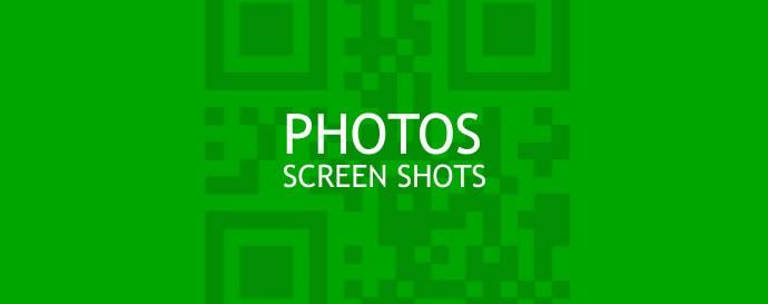 Photos & Screen Shots