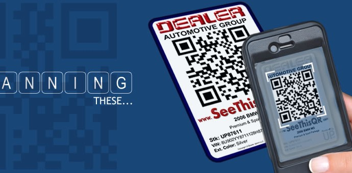 Scanning QR Codes for Automotive
